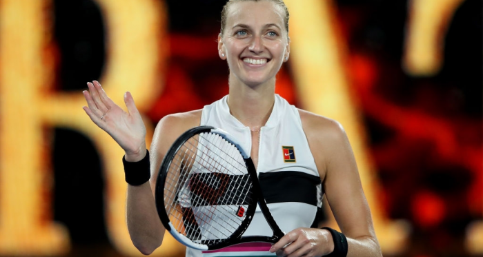 Petra Kvitova is looking to maintain her spotless record over younger compatiriot Katerina Siniakova when the pair clash in the first round of the Australian Open. Photo: Mark Kolbe/Getty Images.