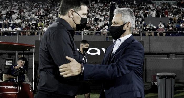 """Eduardo Berizzo: """"El equipo ha hecho un gran esfuerzo para equiparar a una gran Selección como Colombia"""""""