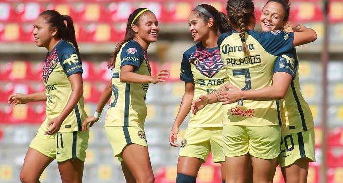 América mantiene el paso perfecto en la Liga MX Femenil
