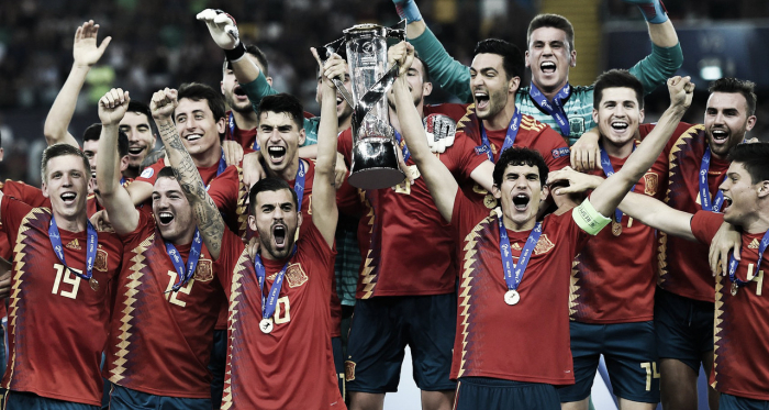 España, la vigente campeona europea sub-21 | Fotografía: UEFA