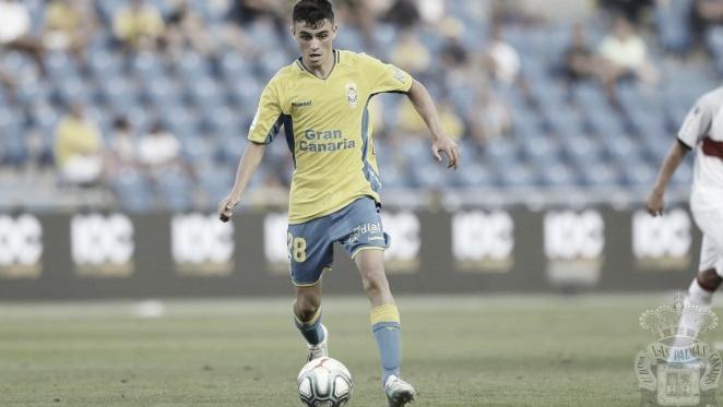 Pedri, líder de la selección sub-17. FOTO: UD Las Palmas