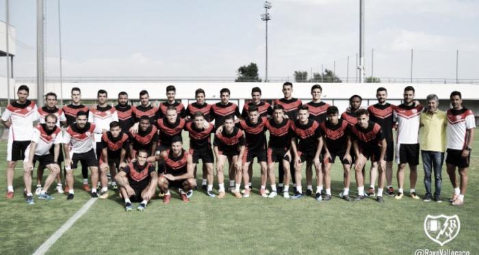 Jugadores del Rayo Vallecano   Fotografía: Rayo Vallecano S.A.D.