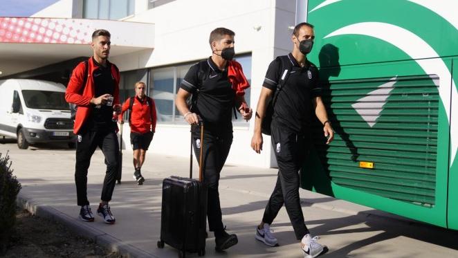 Eteki, única ausencia en la convocatoria del Granada CF para Vigo