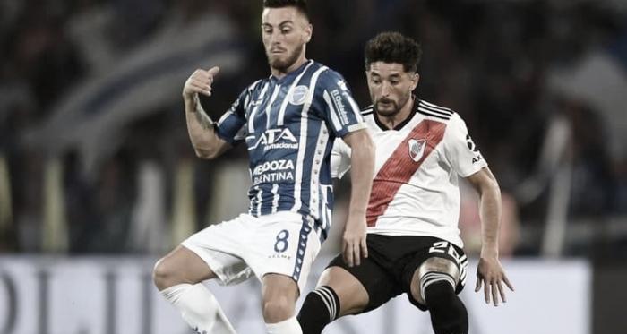 ÚLTIMO ANTECEDENTE.. En el último juego fue goleada de River por cuatro a cero en Mendoza se disputó aquel cotejo. Foto: Web