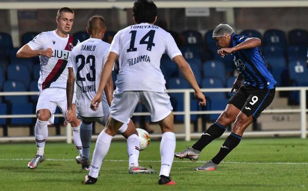 Muriel stende il Bologna: l'Atalanta è seconda