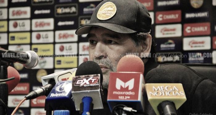 Diego Armando Maradona. Fotografía: Nallely Calderón | VAVEL México