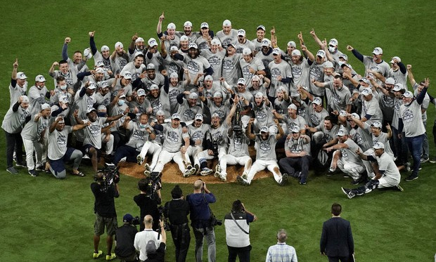 American League Championship Series: Rays hold off Astros in Game 7 to reach World Series