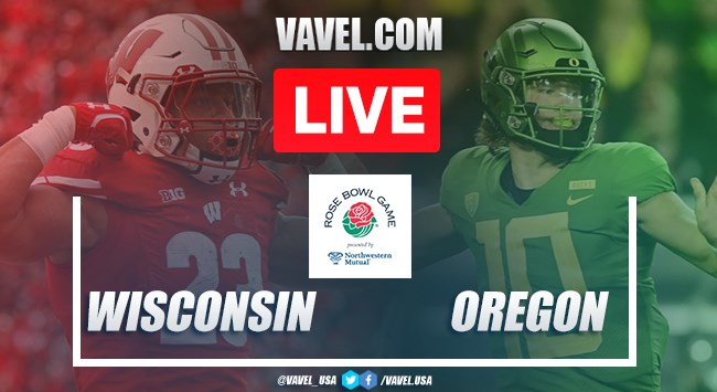 Wisconsin Badgers vs. Oregon Ducks: Live Stream Online TV Updates and How to Watch 2019 Rose Bowl (27-28)