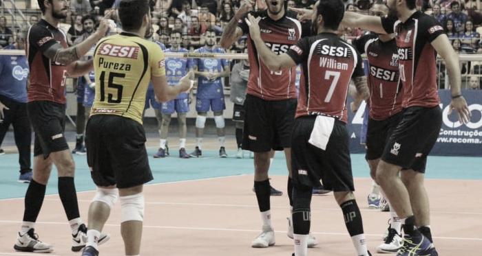 Sesi-SP derrota Taubaté e avança à final da Copa Brasil