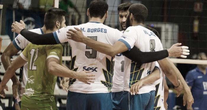 Sesc-RJ anuncia fim do time masculino de vôlei após Superliga 2019/20
