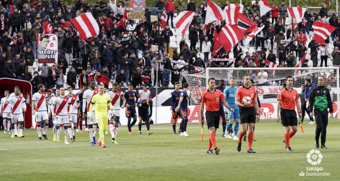 Estadio de Vallecas. Fotografía: La Liga