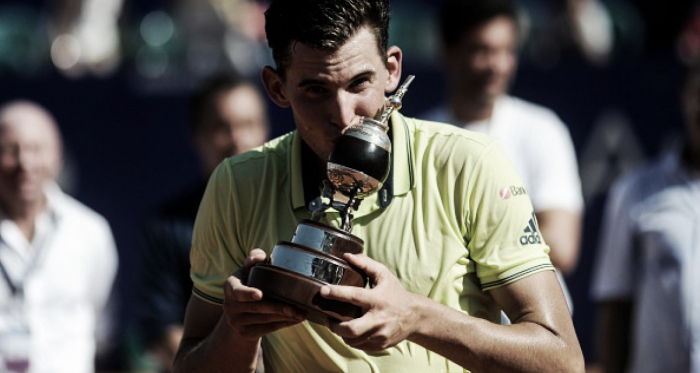 Dominic Thiem celebrates winning his second Buenos Aires title (Photo: NurPhoto)