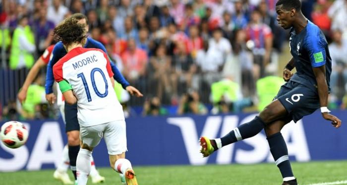La rete del 3-1 di Pogba - Foto fifa.com/worldcup/