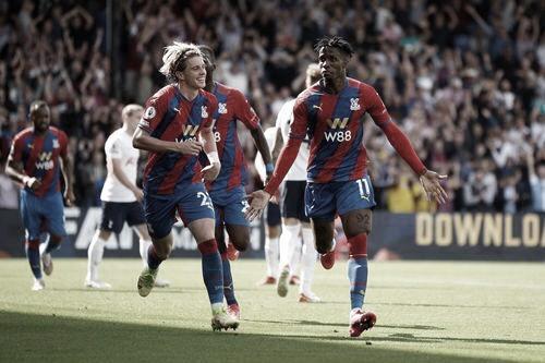 Crystal Palace puso fin al invicto del Tottenham