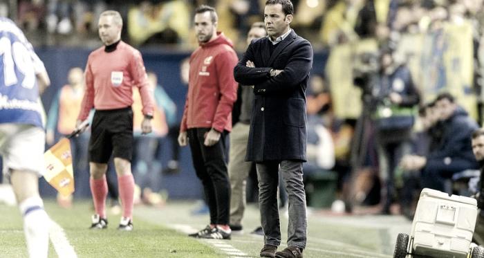 """Javier Calleja: """"La pegada y la efectividad marcan el partido"""""""