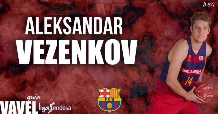 FC Barcelona Lassa 2016/17: Aleksandar Vezenkov, más joventud para el perímetro