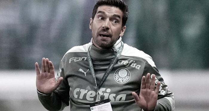 """Abel crava que Palmeiras vai à final da Libertadores e destaca que Dudu """"deve ter ficado chateado com a performance dele"""""""