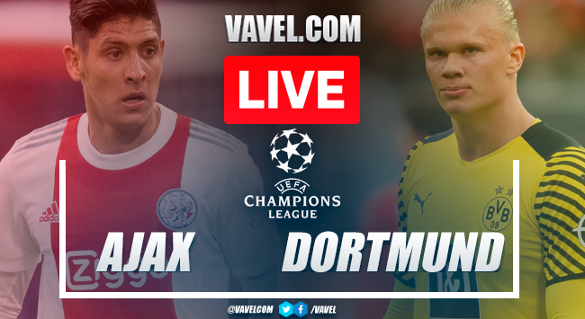 Ajax vs Borussia Dortmund: Live Stream, Score Updates and How to Watch UEFA Champions League Match