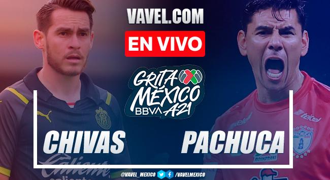 Resumen y gol: Chivas 1-0 Pachuca en Liga MX 2021
