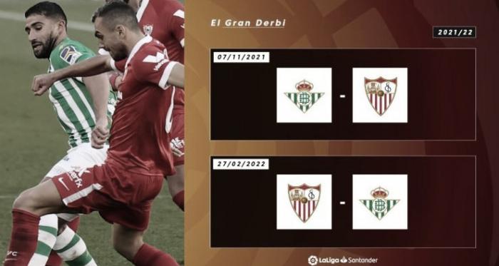 El Betis ya conoce su camino por La Liga 2021/22