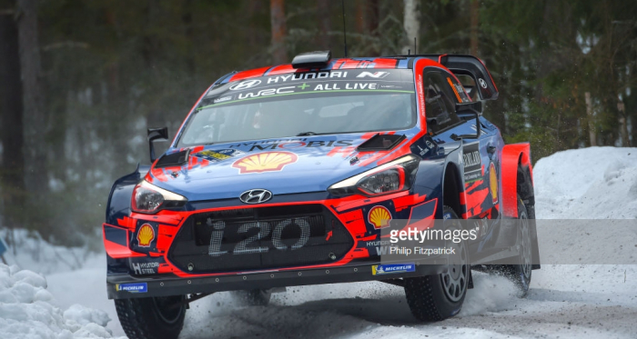 Neuville leading the pack   Credit: Getty Images