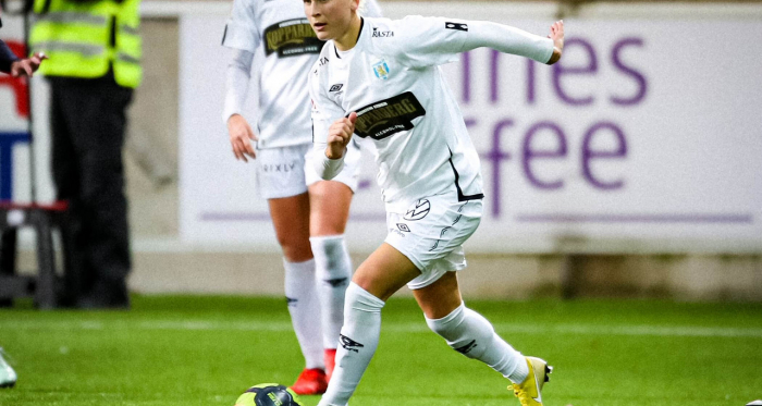 """""""Manchester City will be an exciting challenge for us"""" - Göteborgs FC player Filippa Curmark talks UWCL first leg of round 32"""