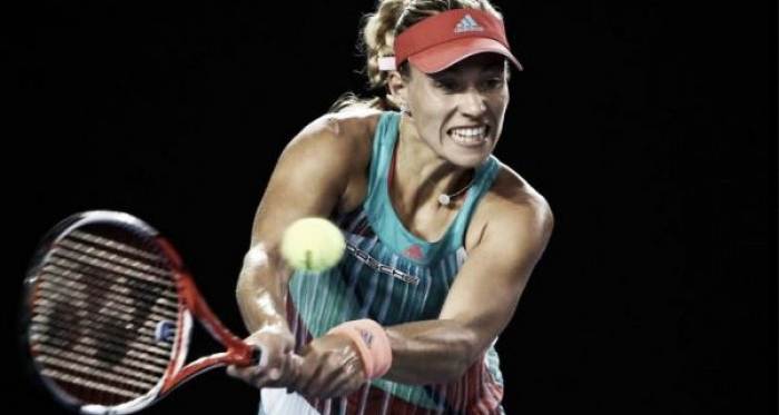 Kerber was one of the favourites for the Doha title. | Image source: SuperSport