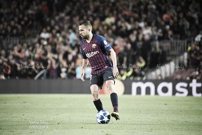 Jordi Alba regresa a 'La Roja'