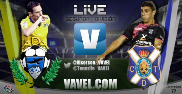 Resultado AD Alcorcón - CD Tenerife en la Liga Adelante 2015 (0-0)
