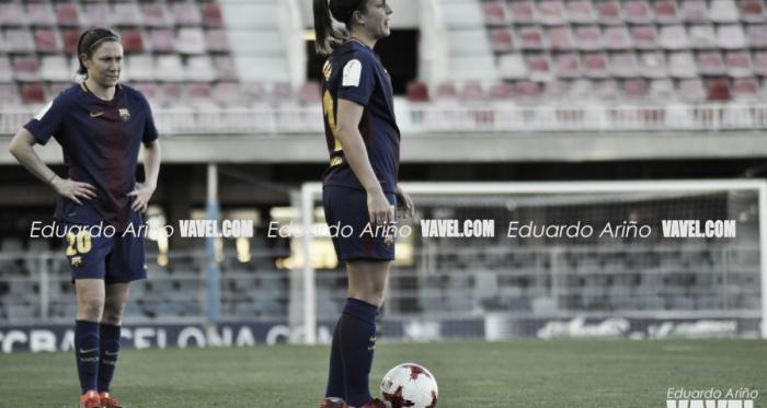 Alexia Putellas con el FC Barcelona en el Miniestadi | Foto: Eduardo Ariño, VAVEL