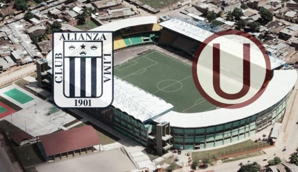El último duelo entre 'grones' y 'cremas' fue el 15 de noviembre en el Estadio Nacional. Montaje: Luis Burranca.