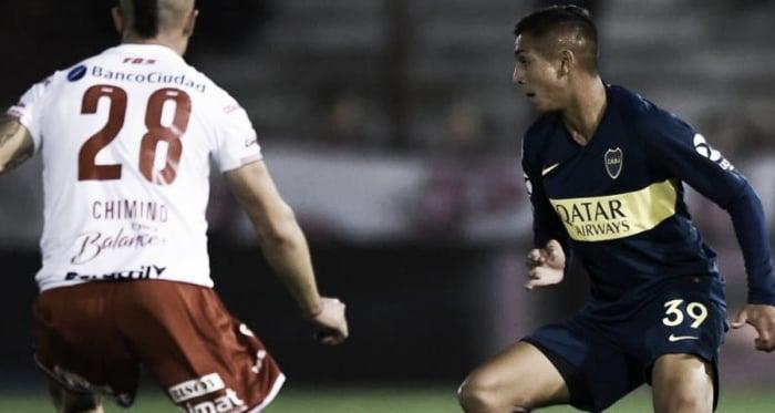 """Agustín Almendra: """"Sabíamos que iba a ser un partido duro"""""""
