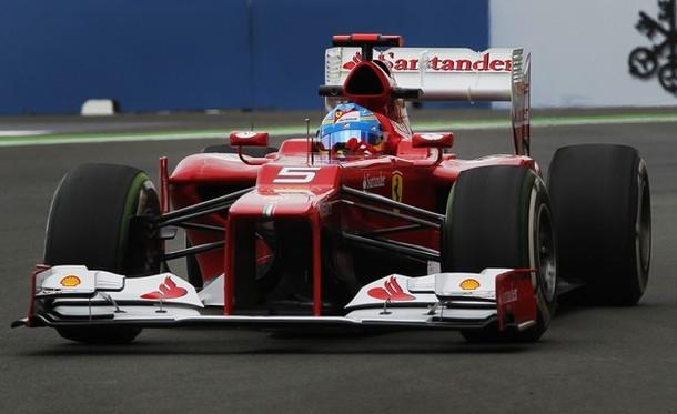 Ferrari prueba el motor V6 Turbo para 2014