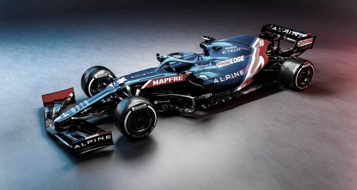 Alpine divulga modelo nas cores da bandeira francesa para 2021