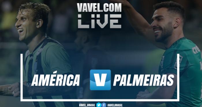 Resultado de América-MG x Palmeiras pelo Campeonato Brasileiro (0-0)