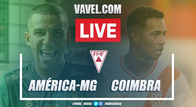 Gols e melhores momentos América-MG 2x0 Coimbrapelo Campeonato Mineiro