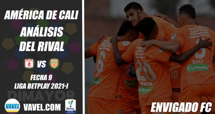 América de Cali, análisis del rival: Envigado FC (Fecha 9, Liga 2021-I)