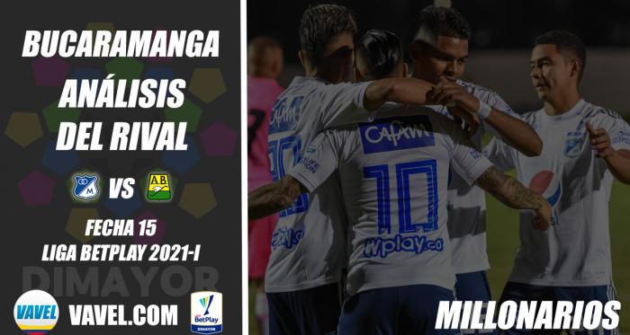 Atlético Bucaramanga, análisis del rival: Millonarios (Fecha 15, Liga 2021-I)