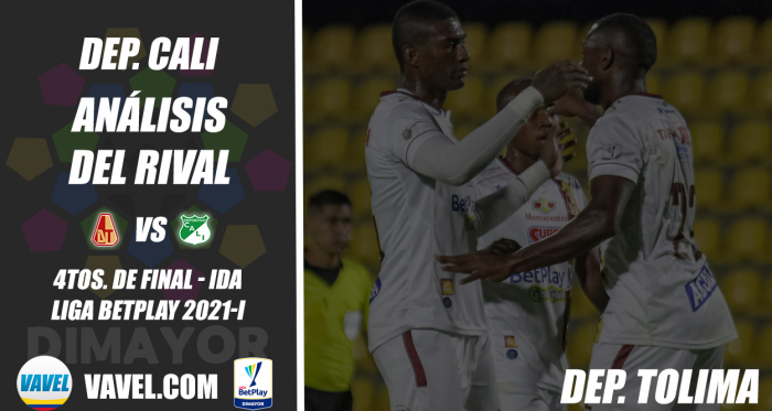 Deportivo Cali, análisis del rival: Deportes Tolima (4tos. de final - ida, Liga 2021-I)