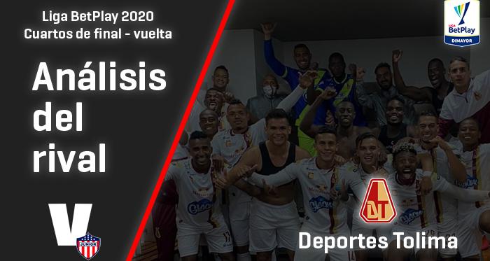 Junior, análisis del rival: Deportes Tolima (Cuartos de final - vuelta, Liga 2020)