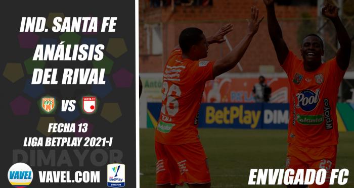 Independiente Santa Fe, análisis del rival: Envigado FC (Fecha 13, Liga 2021-I)