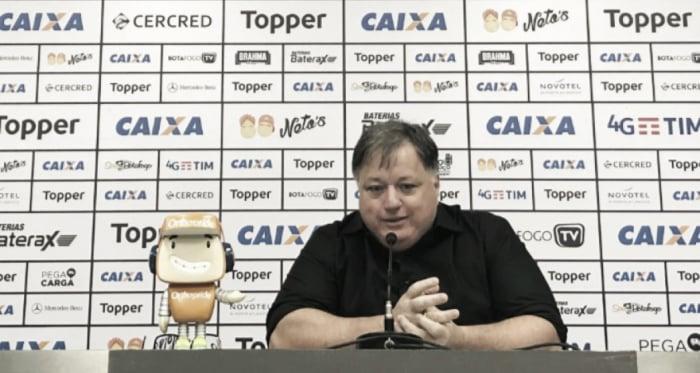 Anderson Barros comenta sobre atraso de salários no Botafogo, mas evita justificar derrotas