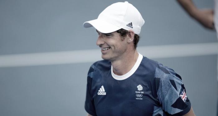 Andy Murray comienza la defensa del doble título olímpico