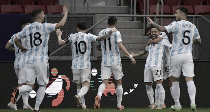 Argentina confirma su presencia en cuartos