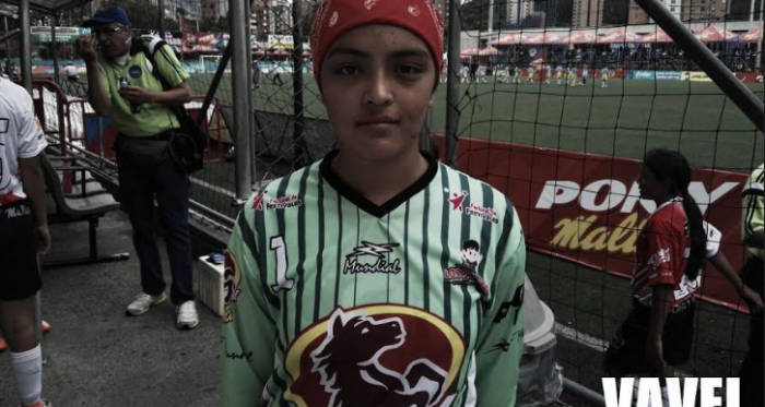"""Allison García: """"Estamos tranquilas siempre, jugando bien, sabemos que este es un gran torneo"""""""