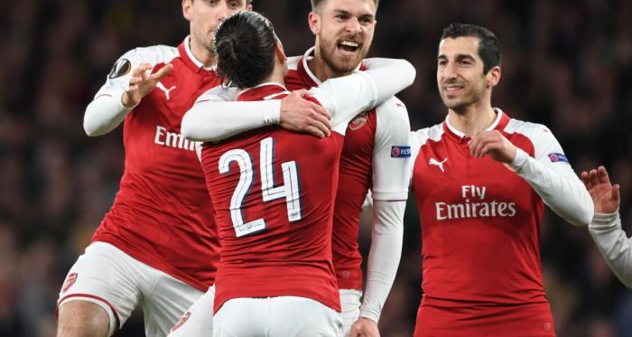 Europa League, all'Arsenal basta un tempo | www.twitter.com (@Arsenal)