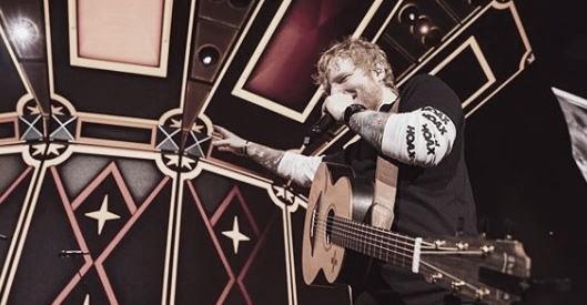 Foto: Cuenta de Instagram Oficial de Ed Sheeran (@teddysphotos)