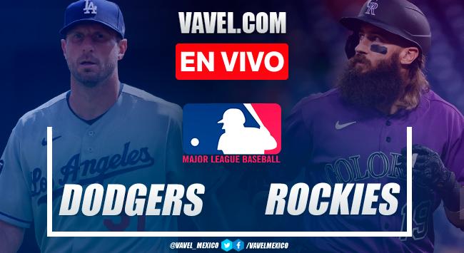 Resumen y carreras: Los Ángeles Dodgers 7-5 Colorado Rockies en MLB 2021