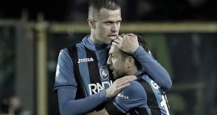 Ilicic e Gómez garantiram os bergamascos na decisão (Foto: Divulgação/Atalanta BC)