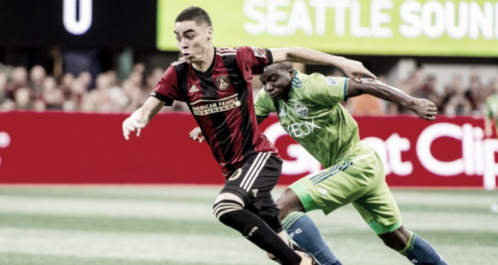Atlanta failed to take their chances against Seattle } Source: Jason Getz-USA TODAY Sports